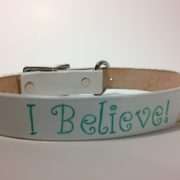 I belive! Unicorn Dog Collar